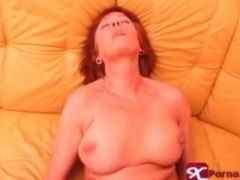 Redhead mature gives head and fuck