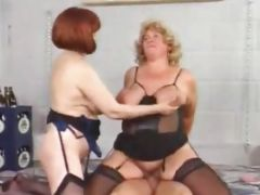 Redheaded Mature Women Gets Fucked On Car